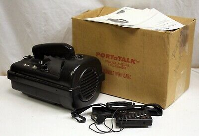 PortaTalk Portable Wireless PA System, Boxed, Tested, Working.