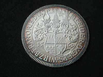 Austria, Thaler, 1569- 1993 restrike, proof silver, UNC; Hungary, Germany