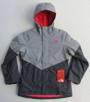 af37c2717 NEW NORTH FACE Girls Brianna Insulated Ski Jacket Waterproof Grey M ...