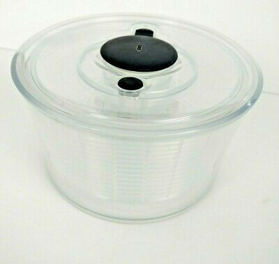 OXO Salad Spinner Herb Small Strainer PBA Free 3 Piece 8""