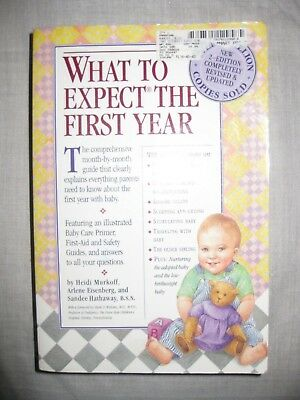 BOOK: What To Expect THE FIRST YEAR - 2ND EDITION, REVISED & UPDATED