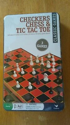 THE CLASSIC COLLECTION Games Of Dominos And Tic Tac Toe - $15 00