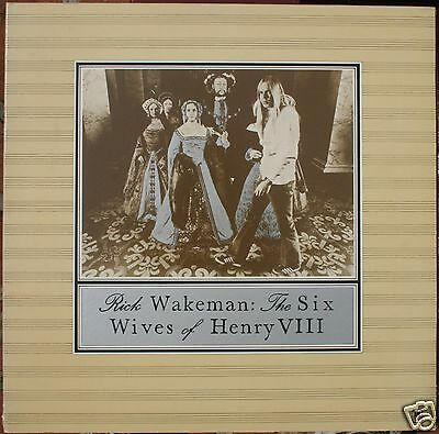 Rick Wakeman - The Six Wives of Henry VIII  Original 1973 First Pressing SP-4361