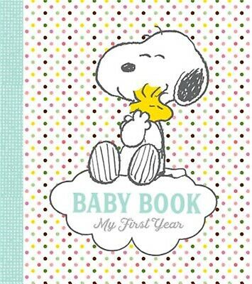 Peanuts Baby Book: My First Year by Schulz, Charles M. -Hcover