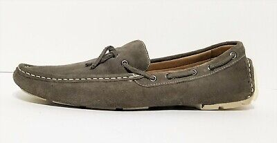 81d28a34fd3 1901 BY NORDSTROM Gray Suede Driving Moccasin Slip On Shoes M05711 Men Size  11