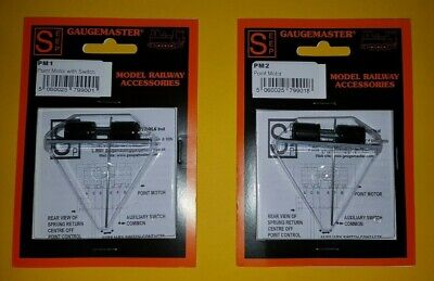 Gaugemaster Point Motor Pm-4 **New** Self Latching With Aux Switch***