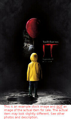"""It - 2017 Original Authentic Movie Theater Poster Double Sided 27"""" x 40"""""""