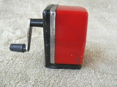 Bostonette Hunt Pen Co. Camden, NJ Vintage Table/Wall Mount Pencil Sharpener