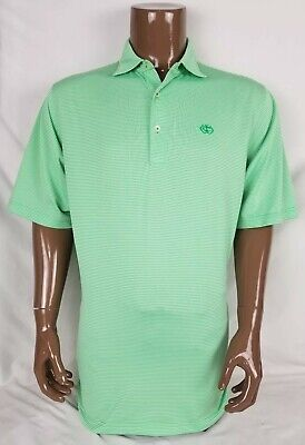 Donald Ross Mens Green Polo Shirt Large