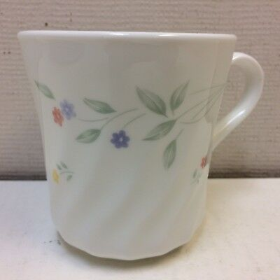 Corelle ENGLISH MEADOW Floral Swirl Pattern Replacement Cup Mug FREE SHIPPING!