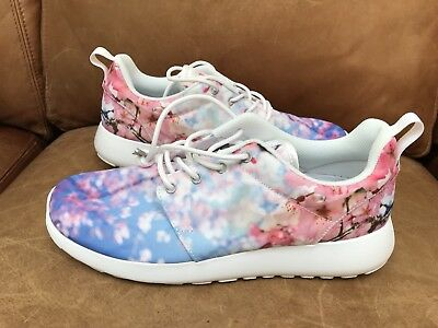 huge selection of c90da cba05 Rare Nike Roshe One Cherry Bls Blossom Women's 819960-100 White Pink Flower  7.5