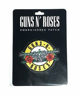 GUNS N' ROSES Circle Embroidered Patch Official Bravado Merchandise Genuine