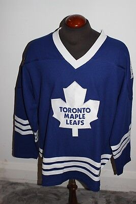 New W Tags Mens Nhl Toronto Maple Leafs Jersey L/Xl Official Licensed Product