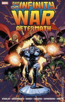 Infinity War Aftermath TPB (Marvel) #1-1ST 2015 NM Stock Image