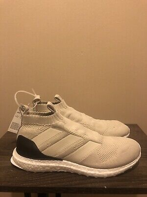01158ab888a27 ADIDAS A16+ ULTRABOOST Mens Sz 6.5 Womens 8 Black White Oreo Running ...