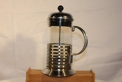 Bodum Chambord Bistro Coffee Maker Tea French Press Stainless Steel 4 Cup