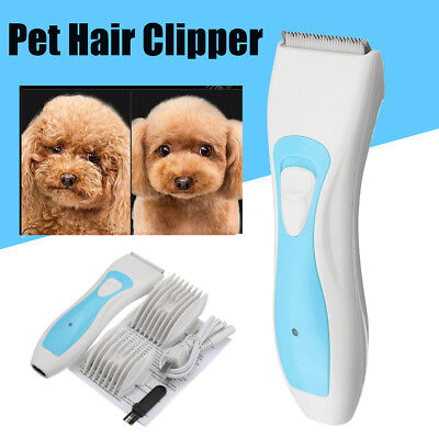 Rechargeable Pet Dog Cat Hair Trimmer Shaver Razor Grooming Clipper Cordless