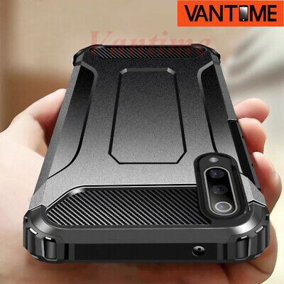 For Samsung Galaxy A50 M20 S10+ A30 Hybrid Armor Case Hard Shockproof Back Cover