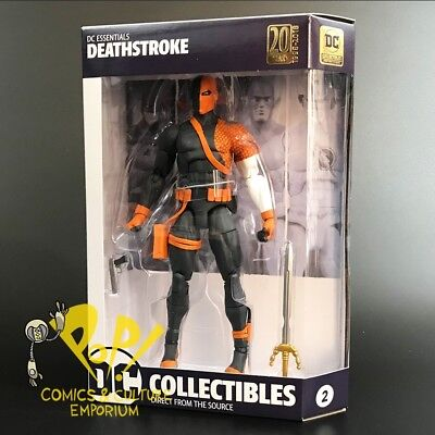 "DC Essentials DEATHSTROKE 6.75"" Action Figure DC COMICS Collectibles!"