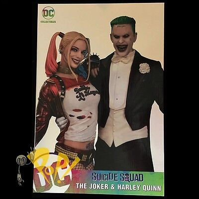 "Suicide Squad The JOKER & HARLEY QUINN 13.25"" Statue DC COMICS Collectibles!"