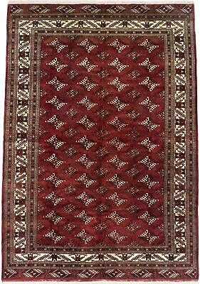 "Hand-knotted Russian Carpet 8'11"" x 12'3"" Shiravan Bokhara Traditional Wool Rug"