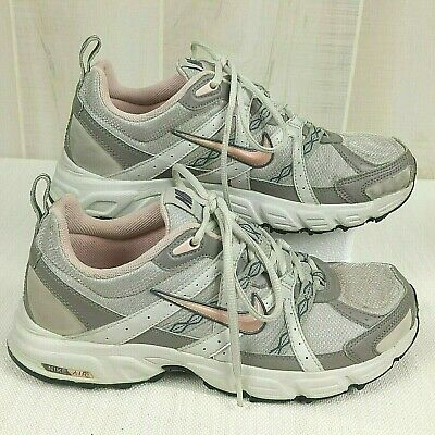 1bffb558d2fd0 NIKE AIR ALVORD 7 Womens Running Shoes Athletic Sneakers Size 9.5 Gray  Silver