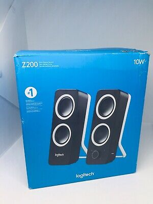 Logitech Z200 Multimedia 2.0 Stereo Speakers Black 980000800