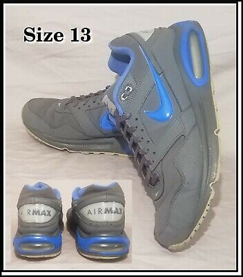 Nike Air Max Navigate Size 13 Gray Blue Men's Shoes Trainers 456977-004 Sneakers