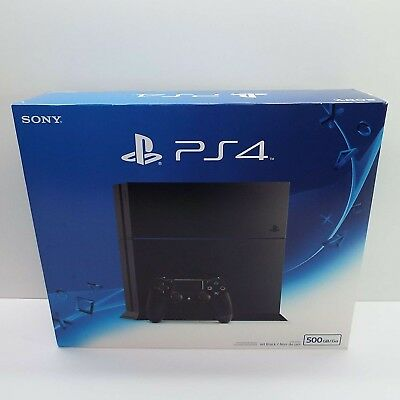 be847daf901 RETAIL BOX Sony Playstation 4 PS4 500 gb (BOX ONLY) LOOK DESCRIPTION (T10