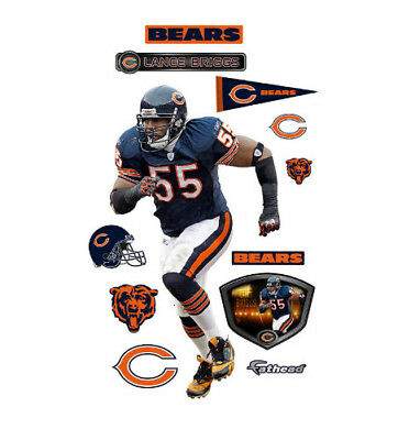 f083c6d5 CHICAGO BEARS FATHEAD Official Team