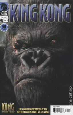 King Kong the 8th Wonder of the World #1 2005 VG Stock Image Low Grade