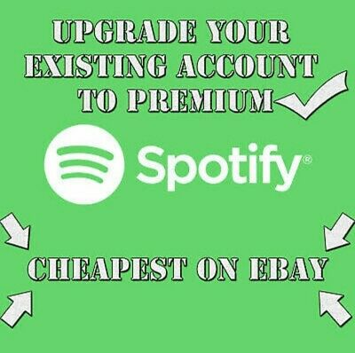 Upgrade Your Own Account 1 Year Guarantee Spotify 1 Year Premium