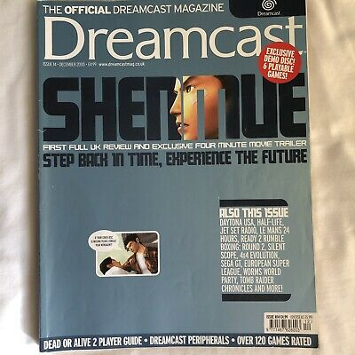 Official Dreamcast Magazine - Shenmue Review - December 2000