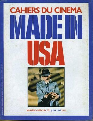 Cahiers Du Cinema Made In Usa N° 337 - Michael Cimino - Win Wenders - Notes Dur