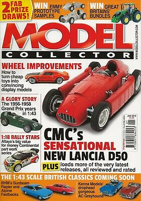 Model Collector Magazine January 2018