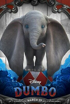 Dumbo 2019 Disney Movie A2 Size Poster Wall Art Picture Print