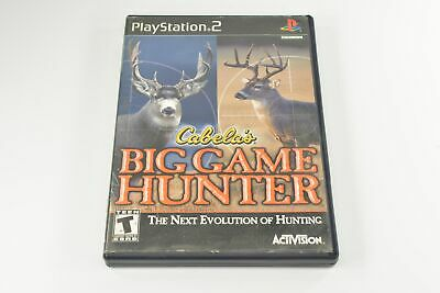 Cabelas Big Game Hunter (Sony Playstation 2 Game Tested and Working) 5952
