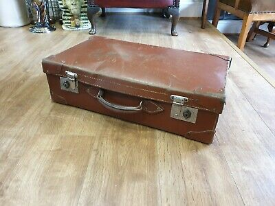 Suitcase Antique Vintage Brown