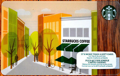 STARBUCKS COLLECTIBLE Gift Card Store Rare New No Value