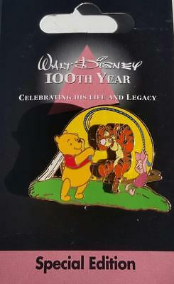 JDS - Walt Disney 100th Year - Special Edition #6 Pooh & Family Jumping Rope Pin