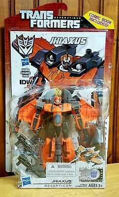 Transformers 30th Anniversary Generations IDW Deluxe Jhiaxus New