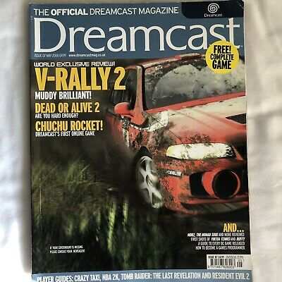 Official Dreamcast Magazine - Resident Evil 2 inside - May 2000