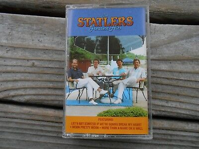 The  Statlers Greatest Hits by The Statler Brothers (Cassette, Oct-1988, Po BOGO