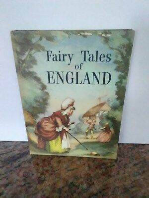 Vintage 1960 Fairy Tales of England Book Childe Roland, Illustrated J.S. Goodall