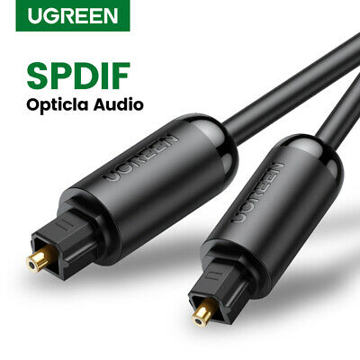Ugreen 3M Digital Optical Audio Cable Toslink SPDIF Coaxial Cable for Amplifier