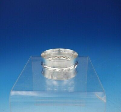 "Silver Flutes by Towle Sterling SIlver Napkin Ring Original #102 1"" x 2"""