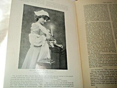 Antique huge book Munsey's magazine 1897 illust. stories photos Mark Twain 900+