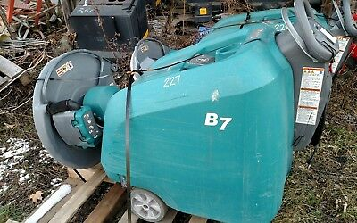 Tennant B7 battery burnisher 27-inch floor buffer scrubber low hrs 263