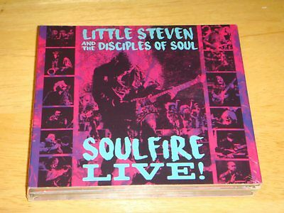 Little Steven & Disciples Of Soul SOULFIRE LIVE Springsteen 3CD Import US Seller