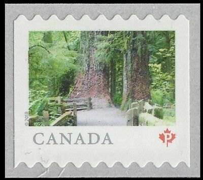 Canada 3059 Far & Wide MacMillan Park 'P' single (from coil of 5000) MNH 2018